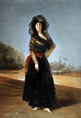 The Duchess Of Alba 1797
