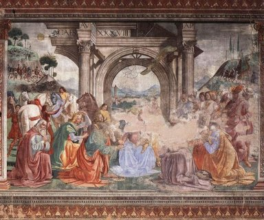 Adoration Of The Magi 1490