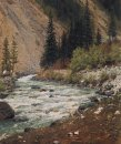 Mountain Stream In Kashmir 1875