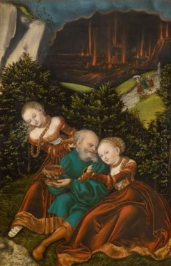 Lot And His Daughters 1528