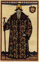 Boyar Costume Design For The Opera Boris Godunov By Modest Musso