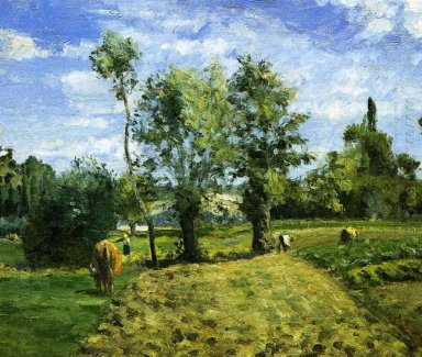 spring morning pontoise 1874