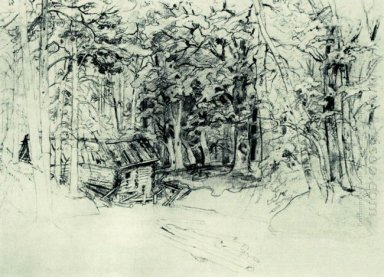 Sketch Of The Painting In 1898 1898