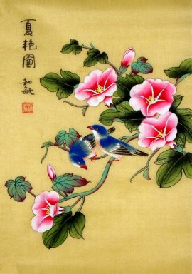 Brids&Flowers - Chinese Painting