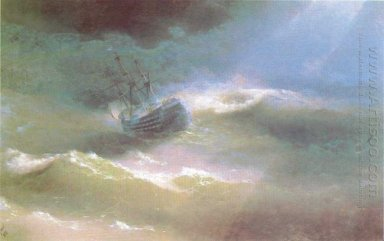 The Mary Caught In A Storm 1892