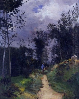 rural guardsman in the fountainbleau forest 1870
