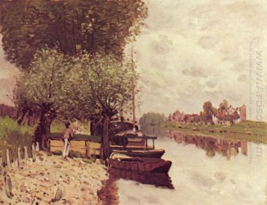 the seine at bougival 1872 1