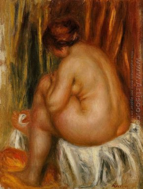 After Bathing (nude Study)