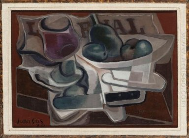 Fruit Dish And Glass 1924