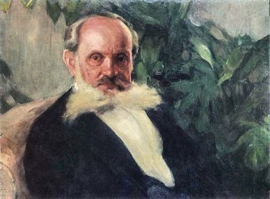 Portrait Of Emmanuil Hrabar Painter S Father