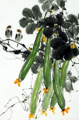 Loofah - Chinese Painting