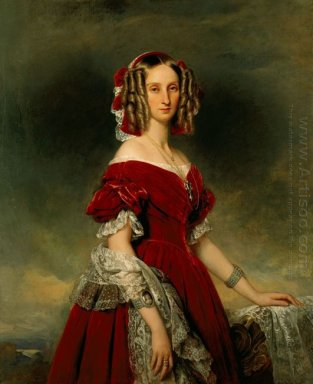 Portrait Of Louises Von Orl Ans
