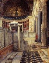 Interior of the Church of San Clemente, Rome