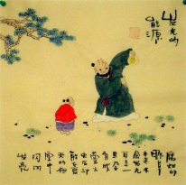 Old Beijingers, firefly - Chinese painting