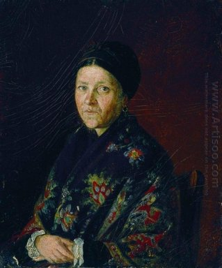 Portrait Of A Bocharova Artist S Aunts 1859