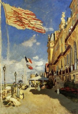 The Hotel Des Roches Noires At Trouville 1870