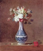 Still Life, Flowers in a Vase