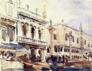 The Piazzetta And The Doge S Palace