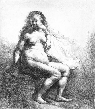 Seated Female Nude 1631