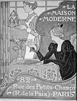 Poster for La Maison Moderne, Paris