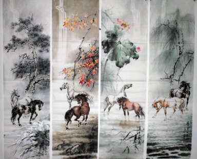 Hores - Chinese Painting