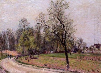 edge of the forest in spring evening 1886