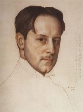 Portrait Of The Artist M Dobuzhinsky