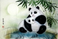 Panda-Family - Chinese Painting