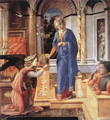 The Annunciation With Two Kneeling Donors 1455
