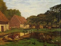 A Farmyard In Normandy