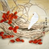 Bird-Autumn dew - Chinese Painting