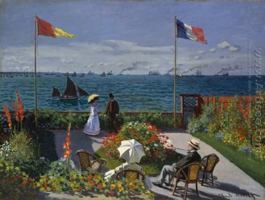 Terrace at the Seaside, Sainte-Adresse