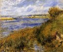 The Banks Of The Seine At Champrosay 1876