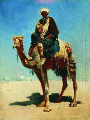 Arab On Camel 1870