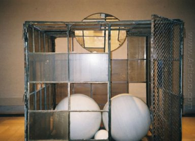 Cell 3 White Marble Spheres 1993