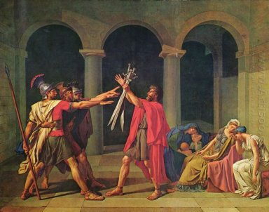 The Oath Of Horatii 1784