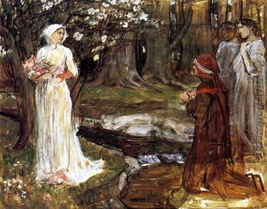 Dante and Beatrice 1915