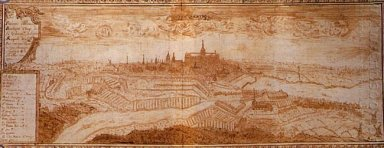 View Of The City Saint Quentin