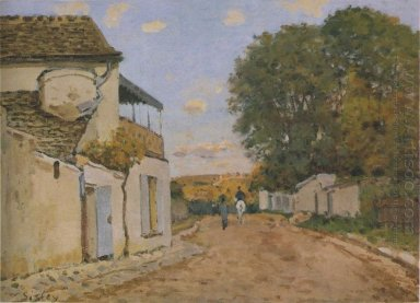 princesse street in louveciennes 1872
