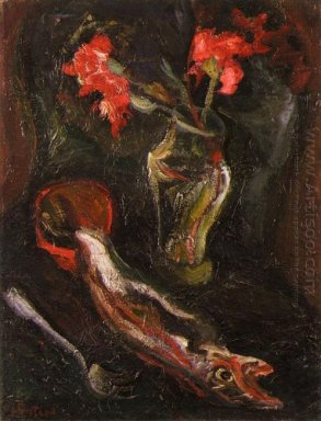 Flowers And Fish 1919