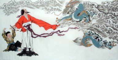 Gaoshi, Dragon - Chinese Painting