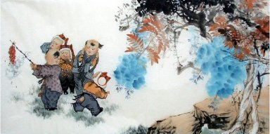 Children-Chinese Painting