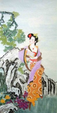 Reading book-Chinese Painting