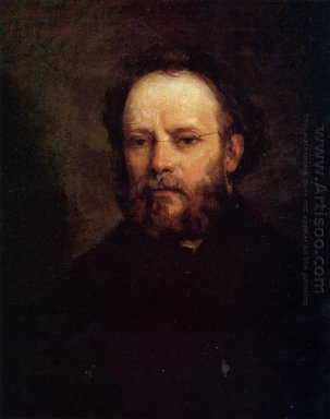 Portrait Of Pierre Joseph Proudhon 1865