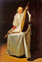 Girl with a Lute