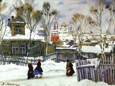 The View Of Troitse Sergiyev Monastery 1916