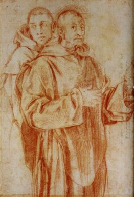 Study Of Two Carthusian Monks 1525
