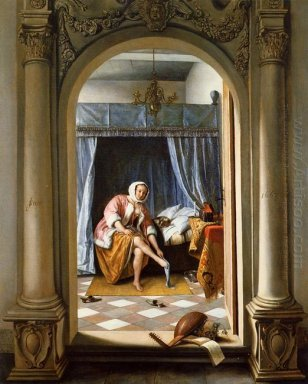 Woman At Her Toilet 1663