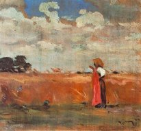 Wheatland with Woman of Shawl
