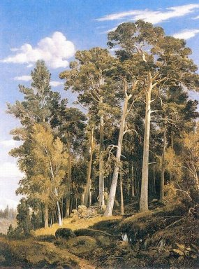 Pine Forest 1866